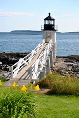 Seasonal Marshall Point Lighthouse, Maine, USA