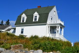 House at Marshall Point Lighthouse, Maine, USA