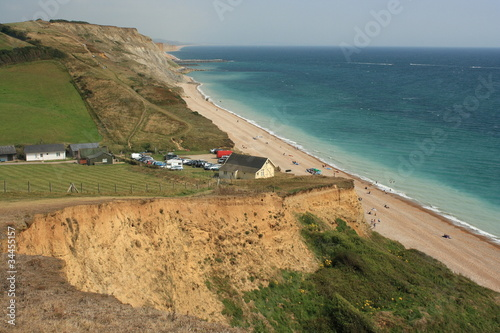 unstable cliffs in dorset