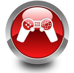Joypad glossy icon