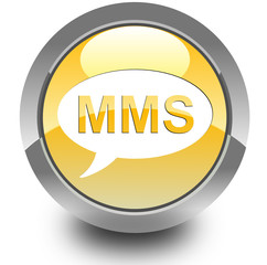 MMS glossy icon