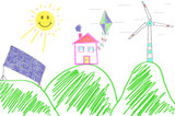 Fototapety erneuerbare energien