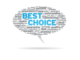 Speech Bubble - Best Choice