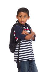 Child Ready to go Back to School