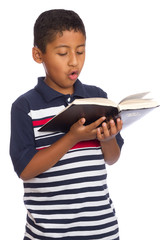 Child Singing the Word of God