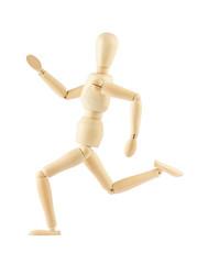 wooden dummy running