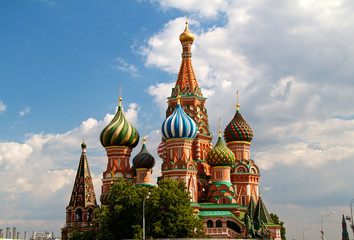 The Cathedral of Saint Basil the Blessed or simply Pokrovskiy Ca