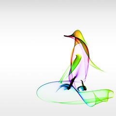 Pingouin artistique