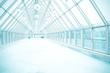 transparent hallway