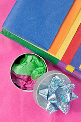 Tissue Wrapping Paper with Gift Box