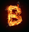 "Fire letter ""B"""