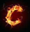 "Fire letter ""C"""