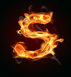 "Fire letter ""S"""