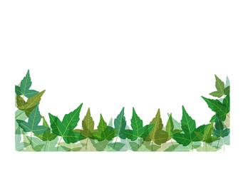 葉っぱ枠1