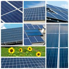 Collage di pannelli solari
