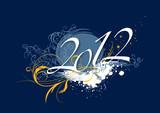 Fototapety 2012 bleu
