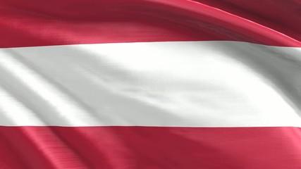 Nahtlos wiederholende Flagge Österreich