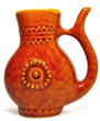 Brown mug-pitcher