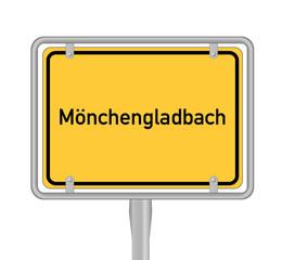 Mönchengladbach Schild