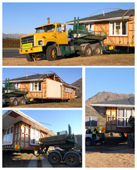 Moving house on wheels - page