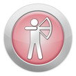 "Light Colored Icon (Red) ""Archery"""