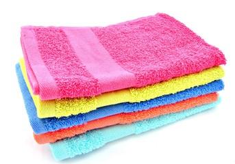 Varias toallas de colores