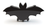 fledermaus bat symbol 3d