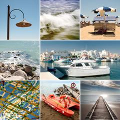 Collage mare Adriatico