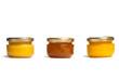 Jars of honey.