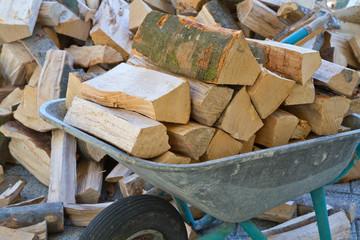 Brennholz, Feuerholz, Kaminholz