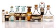 Various mother tinctures of homeopathic medicine