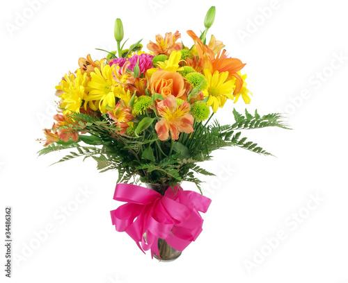 Foto op Canvas Iris flower bouquet