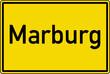 Marburg Ortstafel Ortseingang Schild Verkehrszeichen