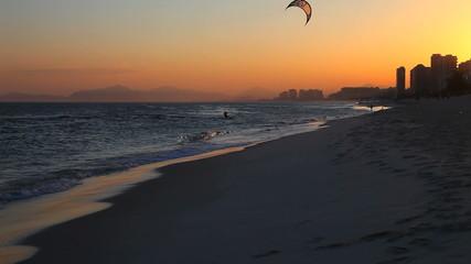 Kitesurfer, Rio de Janeiro