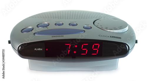 Alarm clock radio - 34489751
