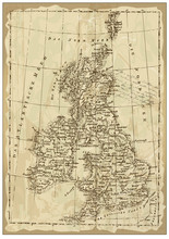 Old British Map