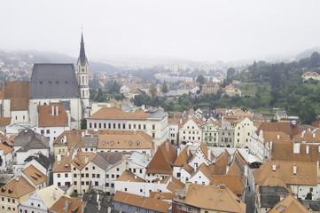 Historic rooftops of Cesky Krumlov