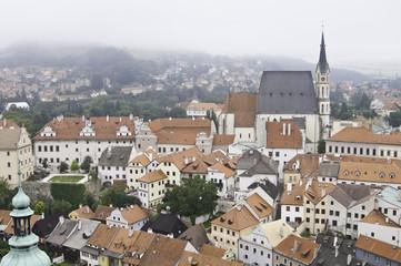 Cityscape of Cesky Krumlov