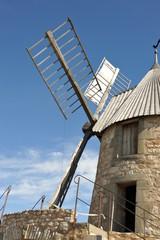Moulin à vent en activité 3