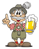 Bavarian with Beer