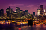 Fototapety New-York pont de Brooklyn