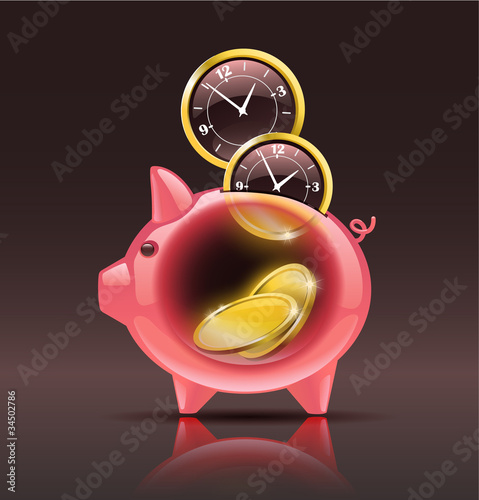 """""""Time is money"""" сoncept"""