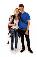 0711 klettern teenager