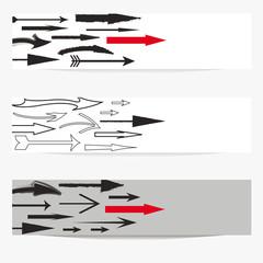 Arrows banner