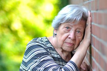 Sad Senior Woman XXXV
