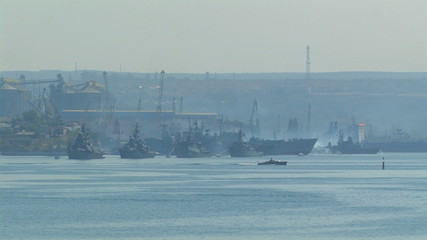 Military base Russian Navy.
