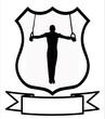 Male Gymnastics Sport Shield
