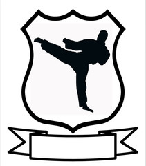 Karate Sport Shield