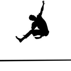 slackline, slacken, klettersport
