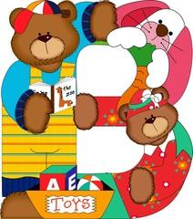 b zoo bear alphabet